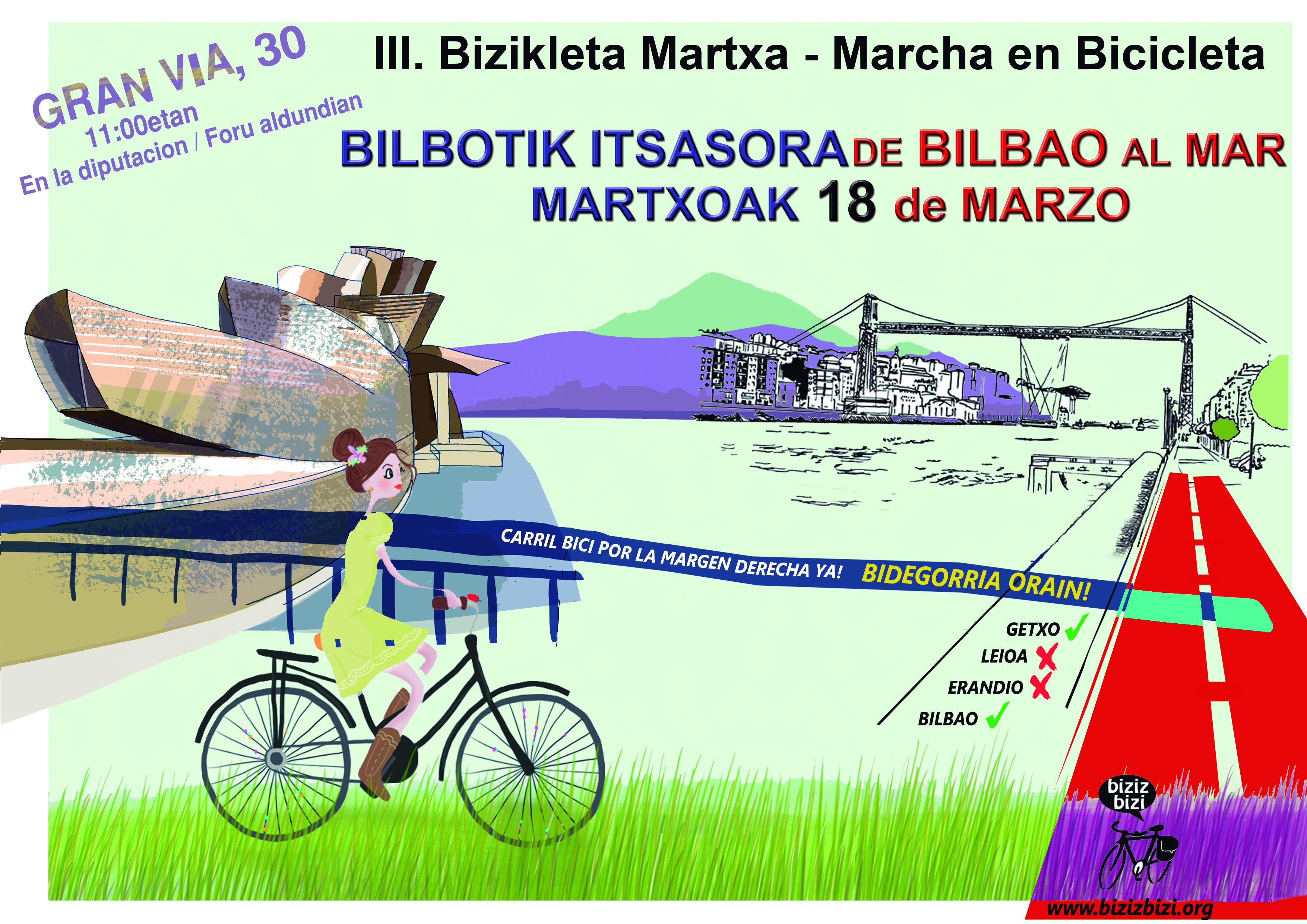III Marcha Bilbao-Getxo-Bilbao