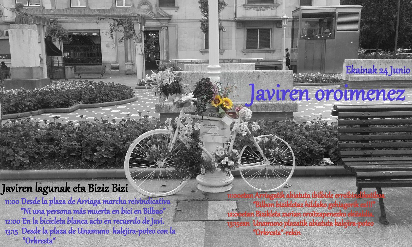 En recuerdo de Javi
