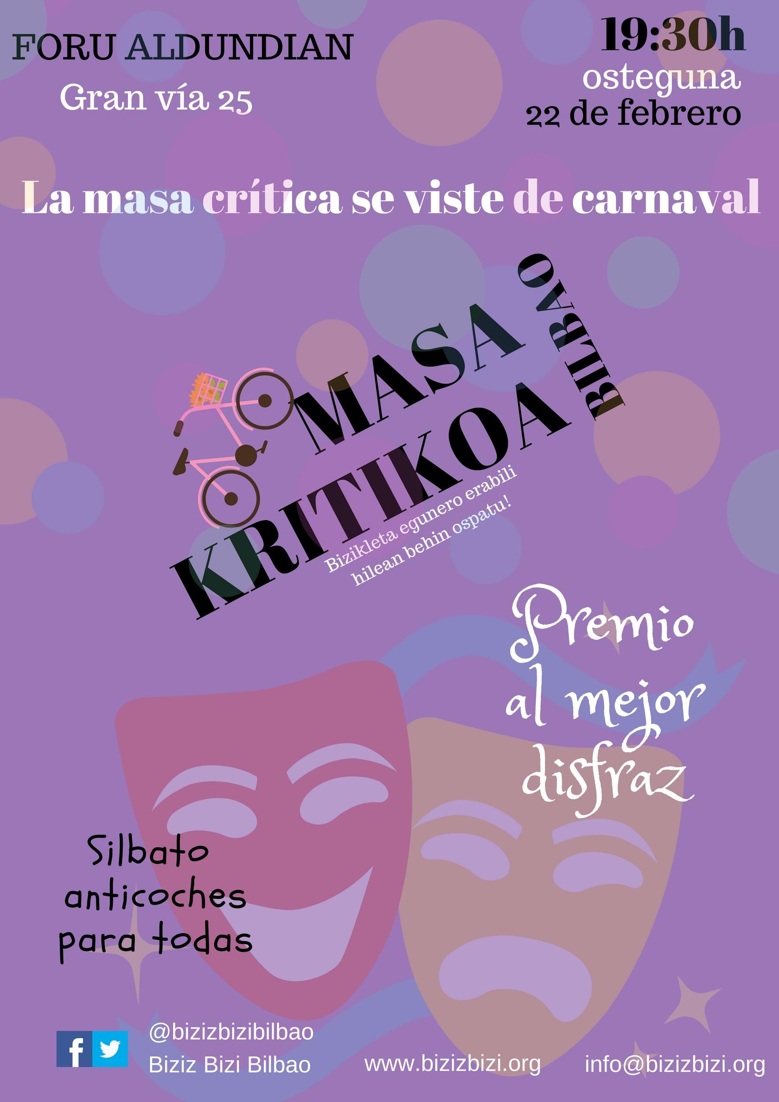 MASA CRÍTICA – Carnaval