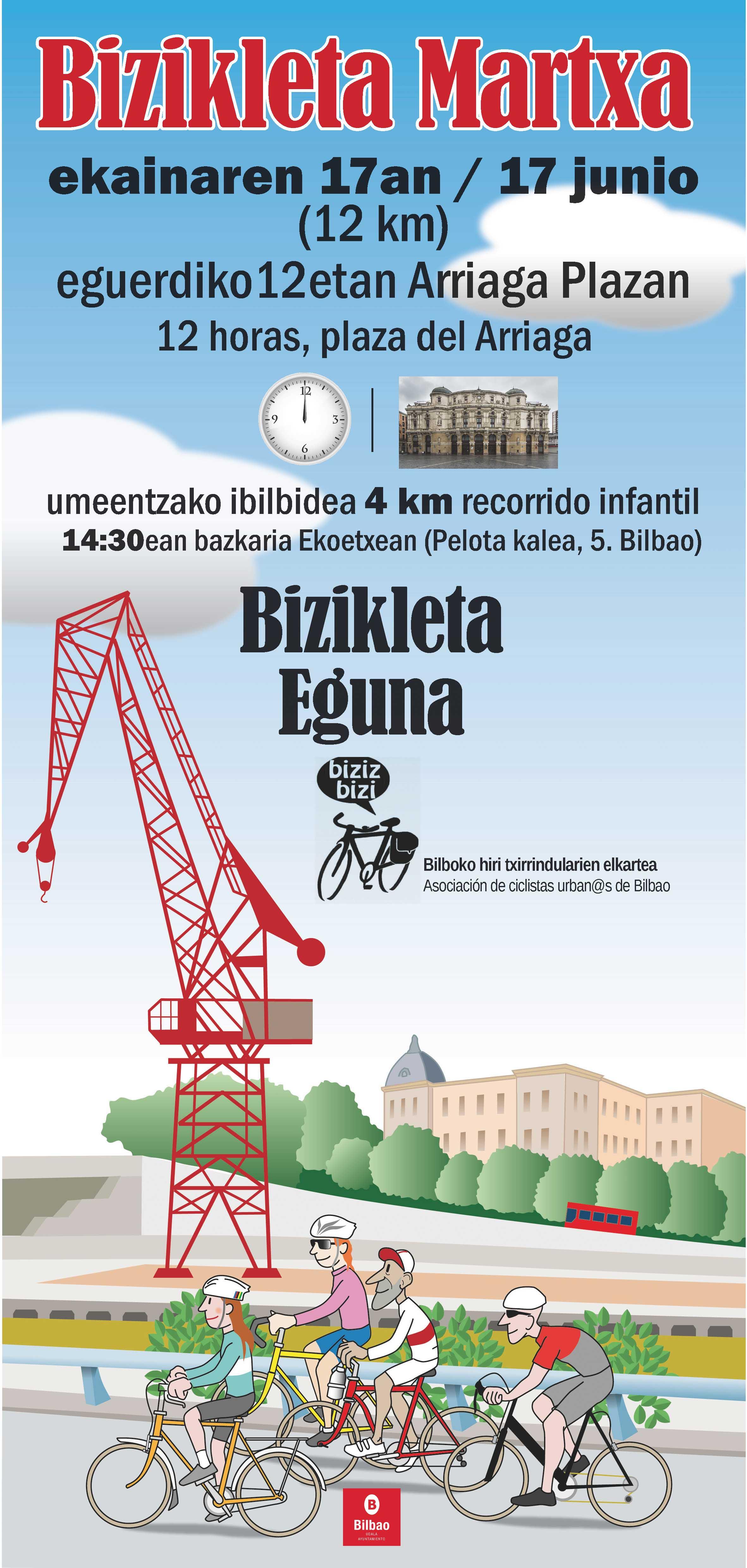 Día de la Bicicleta. Bilbao 2018