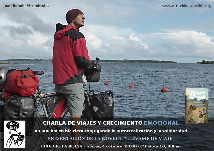 """Charla """"Viajes y Crecimiento Emocional»"""