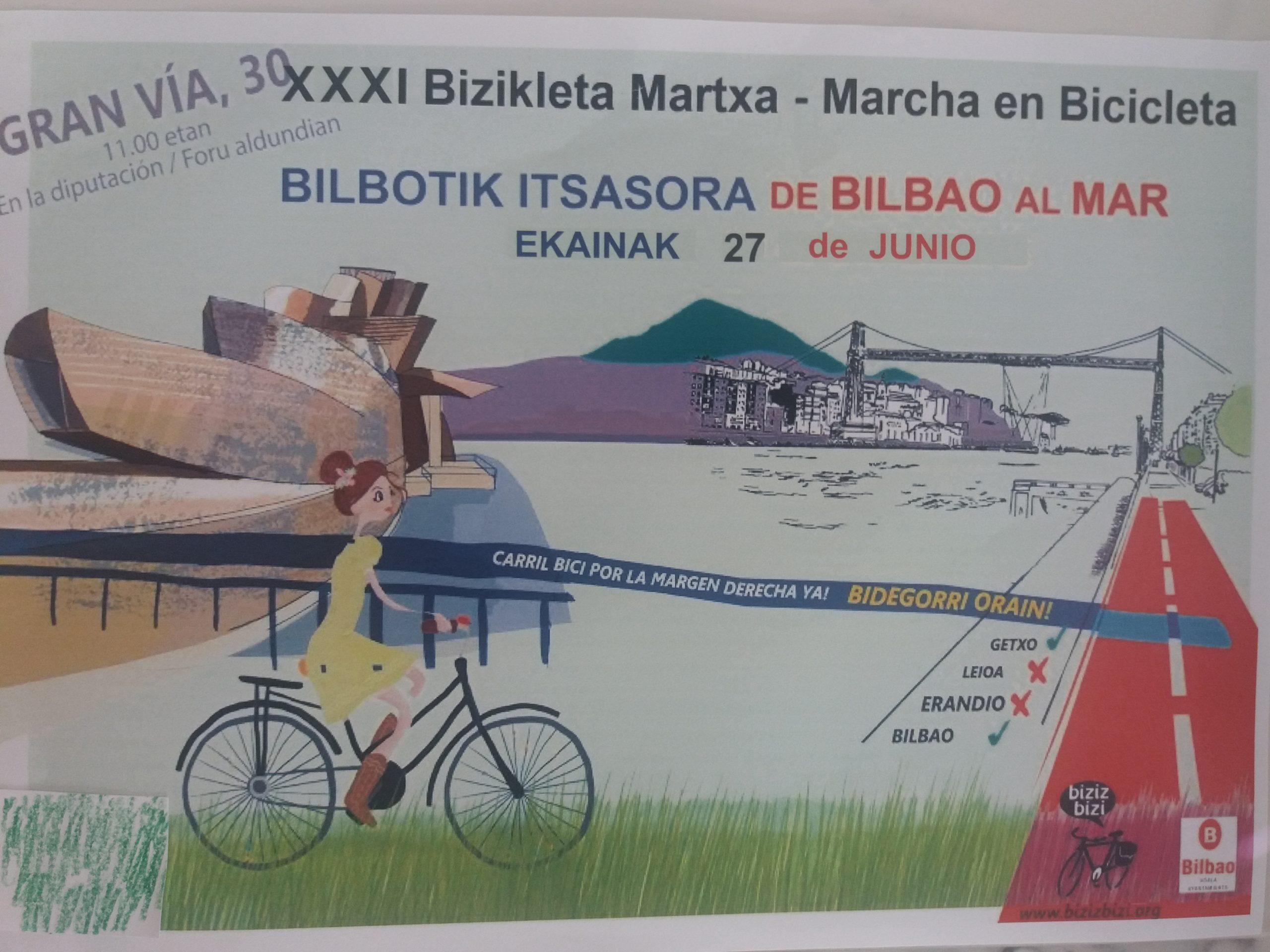 XXXI Bicimarcha Bilbotik Itsasora