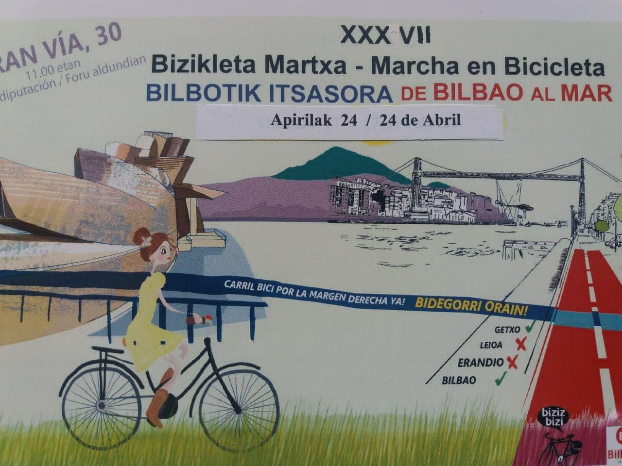 XXXVII Marcha #BilbotikItsasora