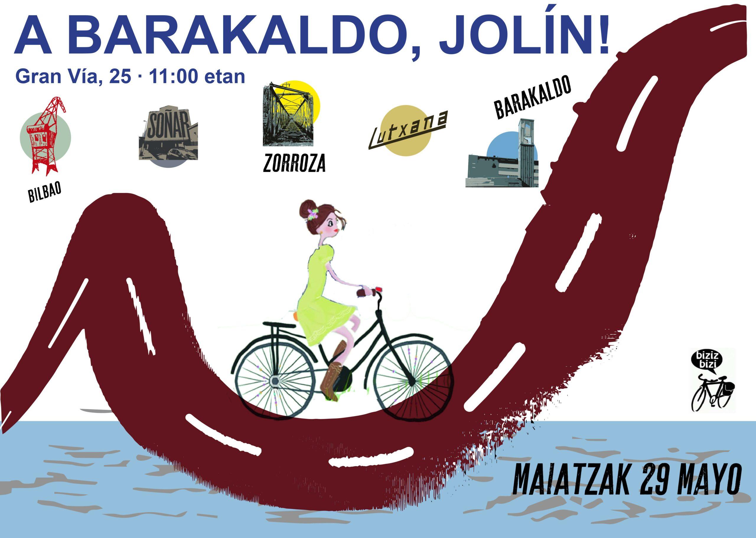 I Bici Marcha – ¡A Barakaldo Jolín!
