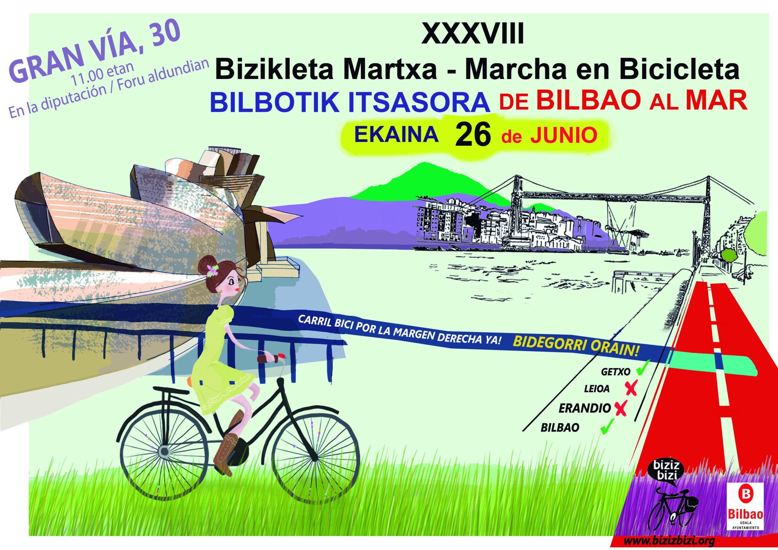 XXXVIII Bicimarcha #BilbotikItxasora