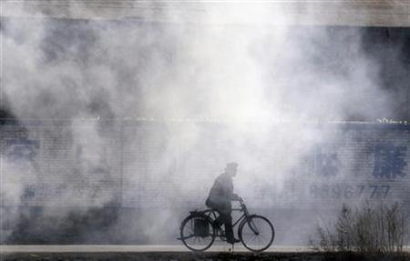 la bicicleta de humo