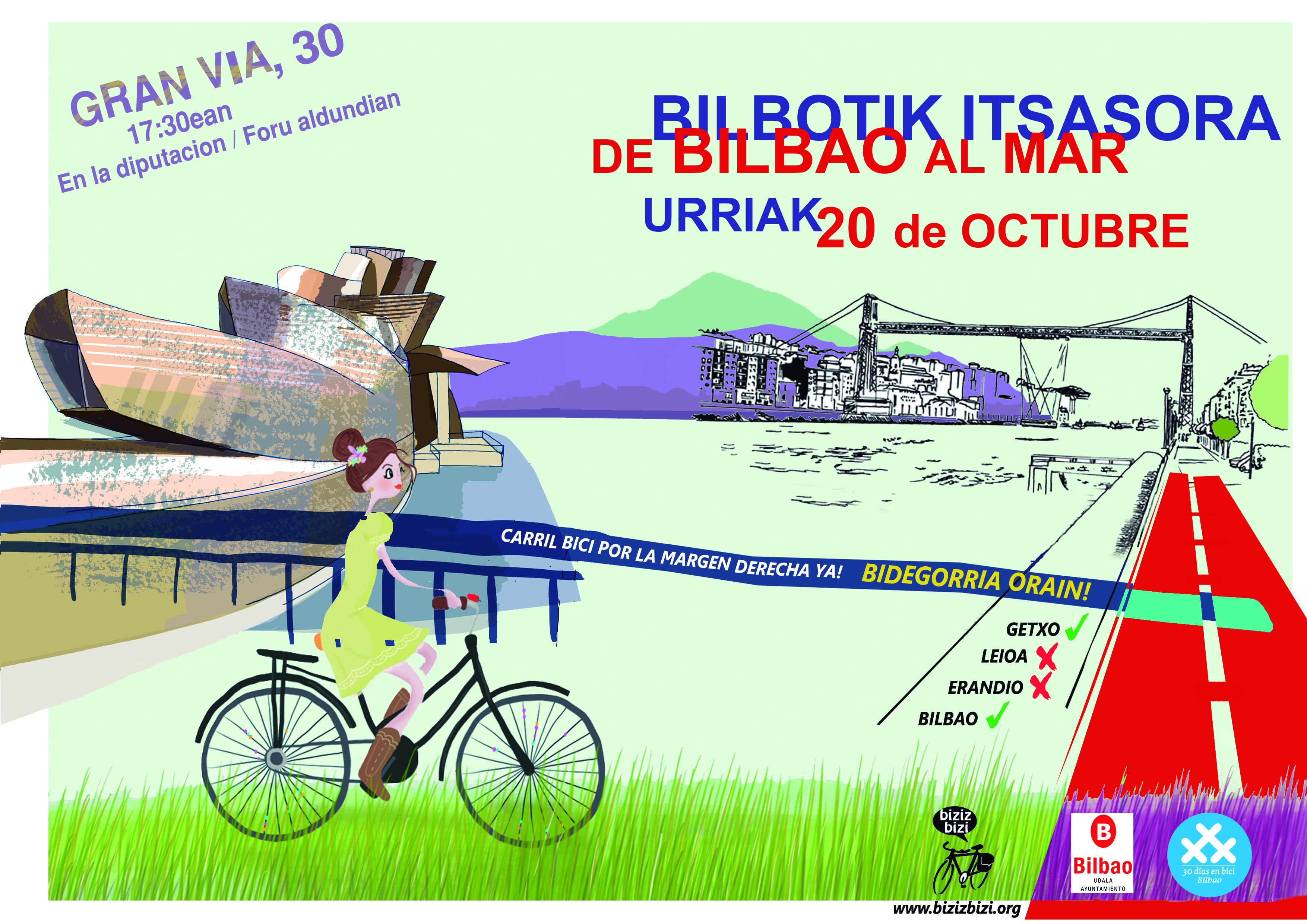 II Marcha Bilbao-Getxo-Bilbao